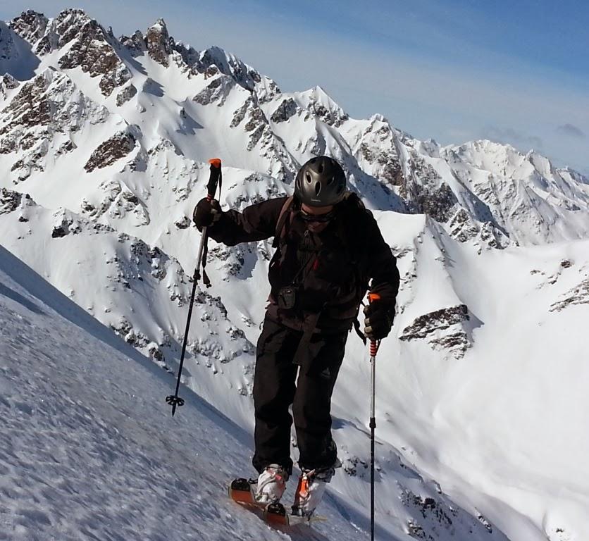 Pirineos:Esqui de montaña en Hautacam