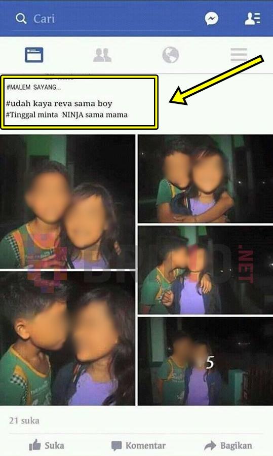 Parah !!! Terinspirasi Dari Sinetron Anak Jalanan, Bocah ini Ciuman dan Minta Motor Ninja