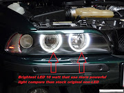 BMW E39 angel eye promotion