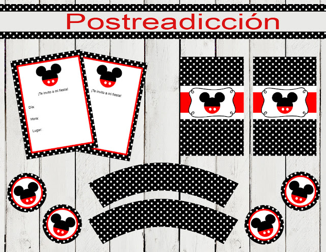 Kit de fiesta Mickey Mouse