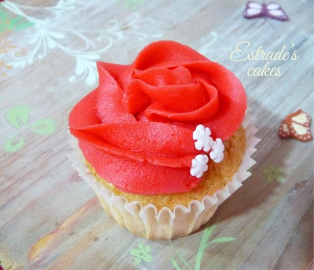 cupcakes de Navidad con buttercream - 2