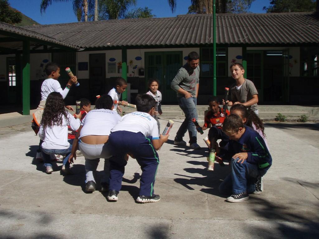 Alunos da Escola A . Josetti na Posse