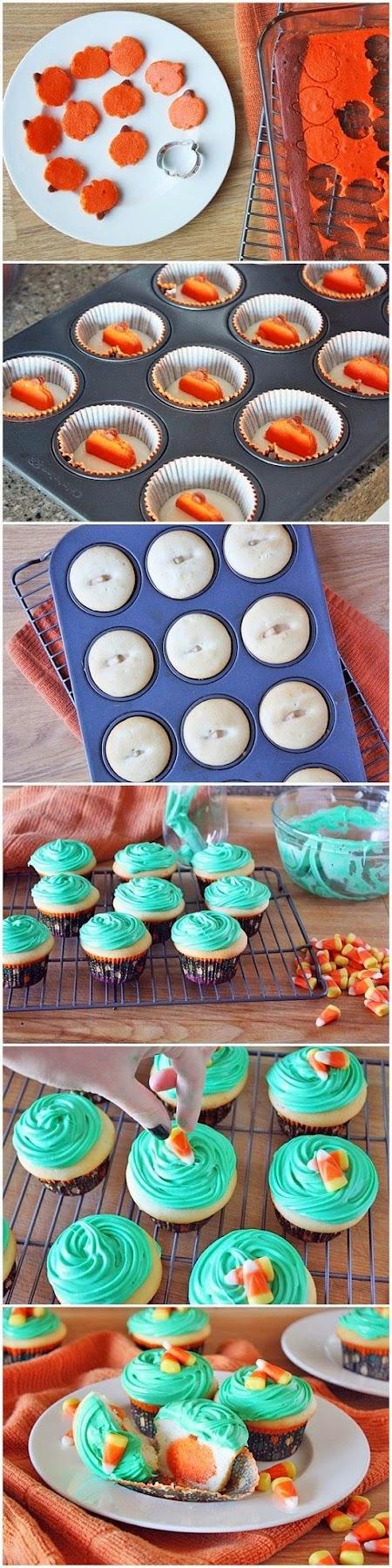 How To Make Boo! Jack O' Lantern Cupcakes