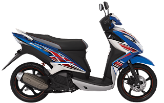Yamaha Xeon RC Thunder Bolt Blue