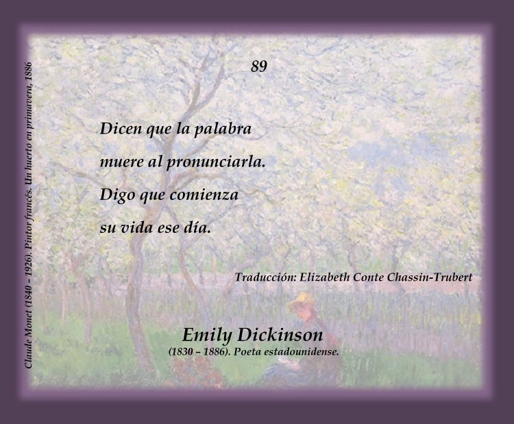 721 poem analysis emily dickinson Chronique 721 2 however, more than  discussion of emily dickinson's poem « because i could  will be attended to than when one reads a poem for criticism or.
