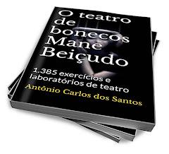 O livro Teatro de Bonecos Mané Beiçudo