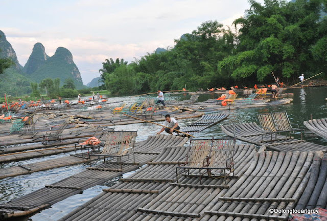 Yulong River, Aishanmen village, Yangshou, China