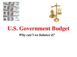 US budget can't be balanced