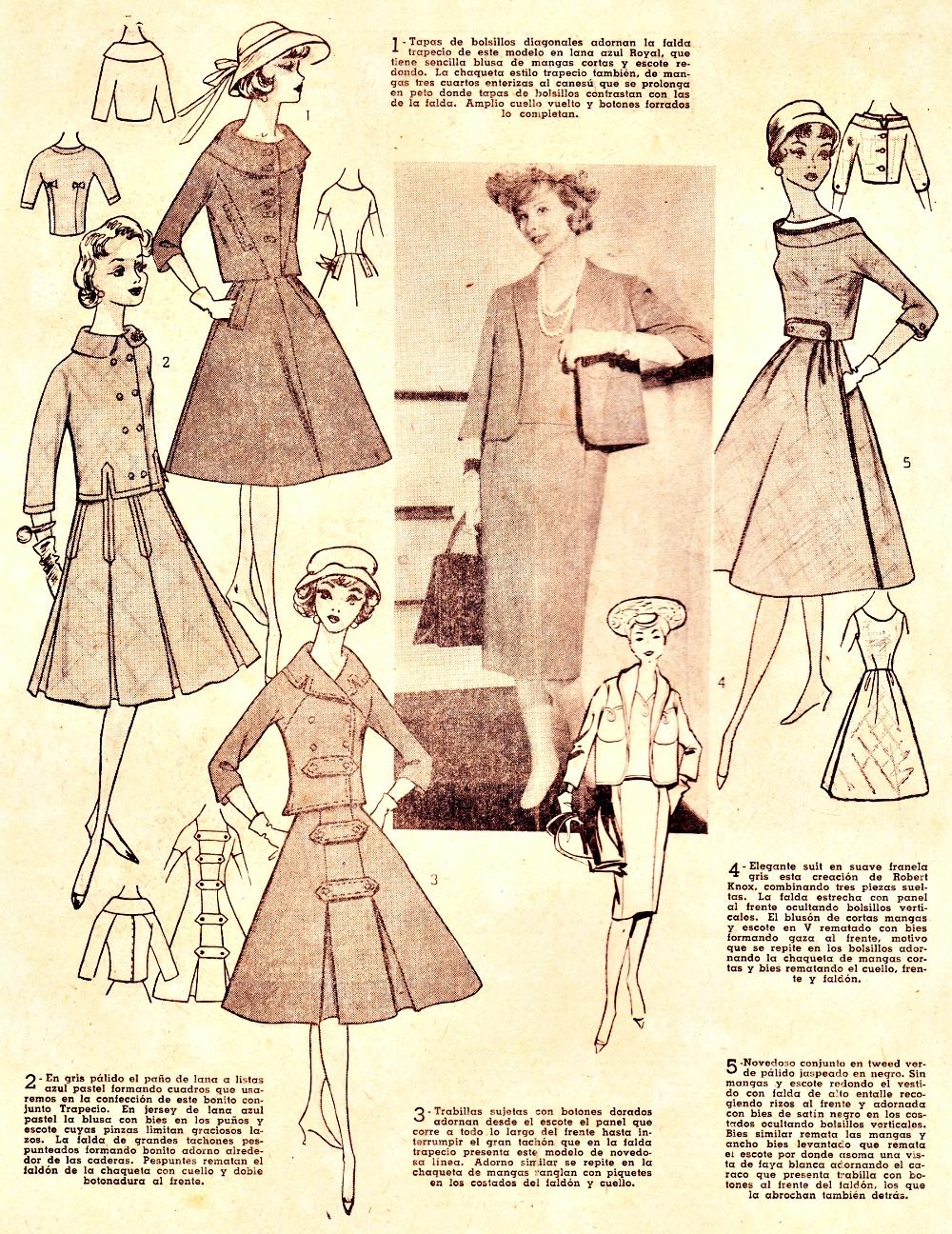 Boulevard de l antique retro scraps fashion in the 1950 s