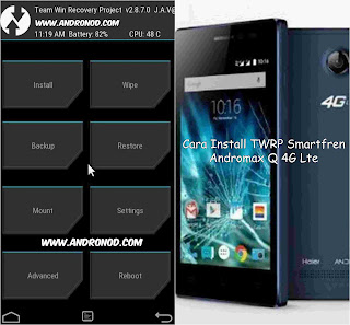 Cwm/Twrp Recovery Smartfren Andromax Q