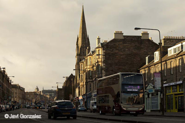 paseo, walk, Edinburgh, Scotland, Leith Walk