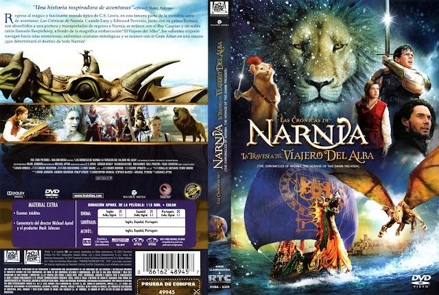 Las Cronicas De Narnia La Travesia Del Viajero Del Alba DVD
