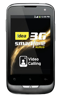 Idea Aurus, Idea android mobile phone, latest android mobile phone, android mobile phone in Rs. 7000, dual sim android phone