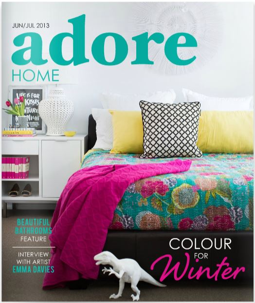 On Line Magazines | Adore Home Magazine via www.desiretodecorate.com