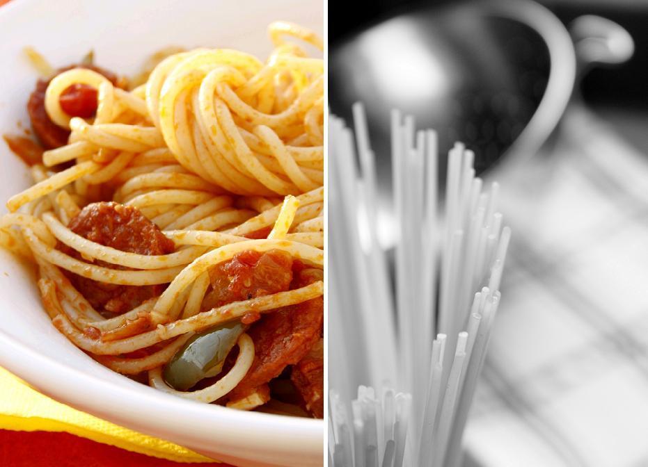 verveine p 234 che spaghettis au chorizo
