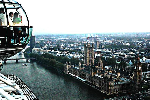 Como ir do aeroporto de Londres até o centro turístico
