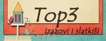 Pri Izazovi i Slatkiši sem bila izbrana med TOP 3 izdelke