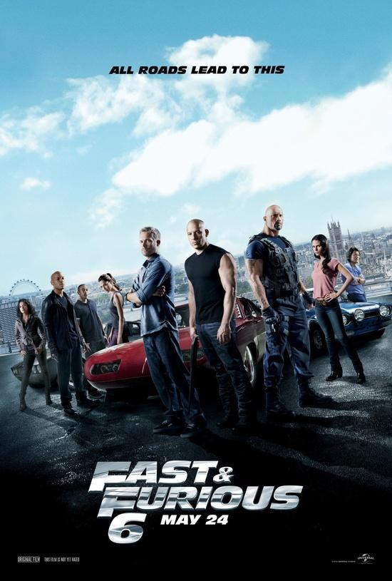 Rápido y Furioso 6 (Fast and Furious 6 / A todo gas 6) 2013