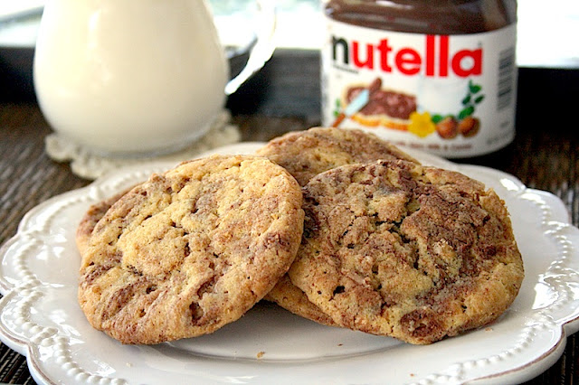 Galletas-Nutella