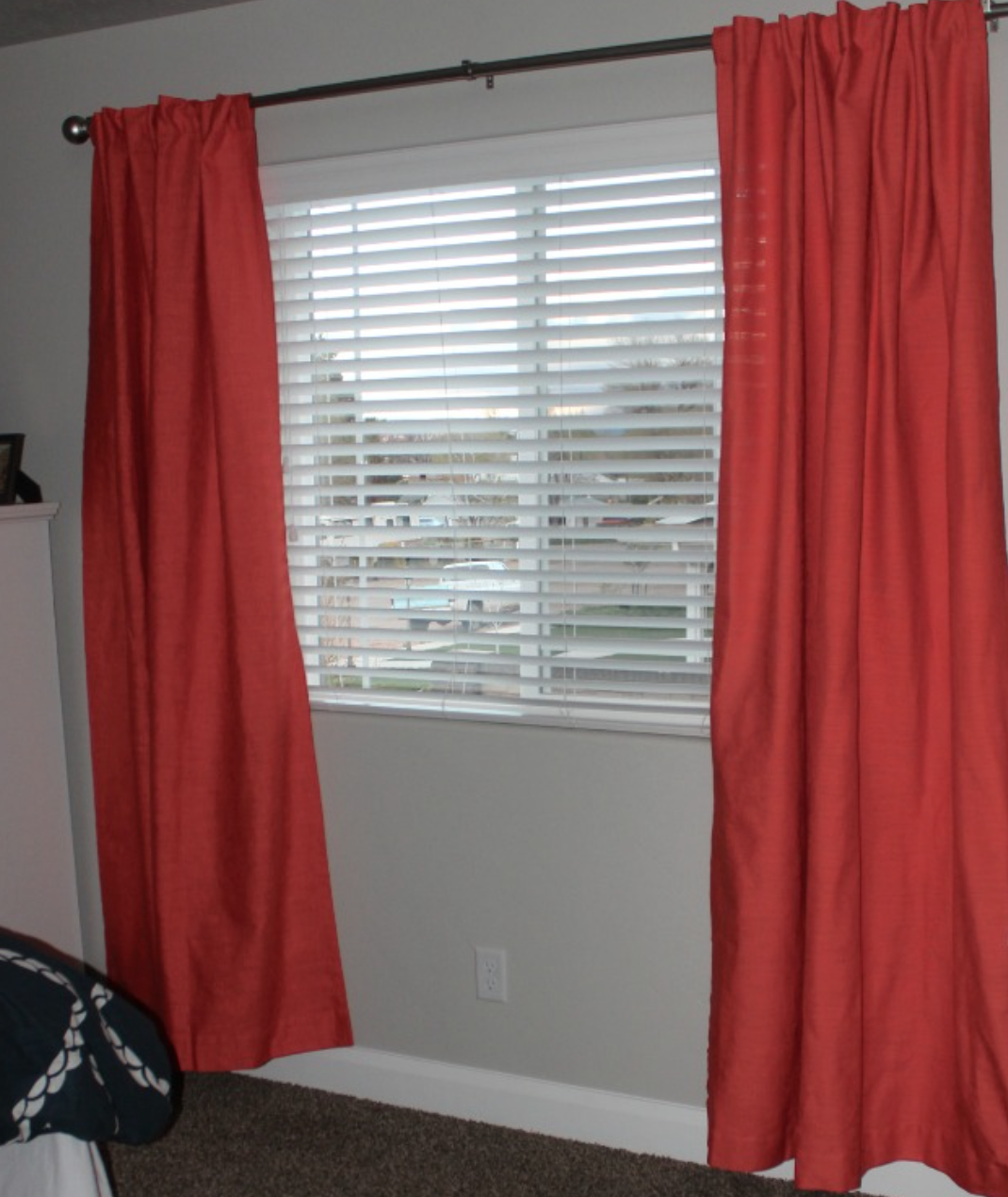 Curtain lengths puddle - What A Difference Drapes Make