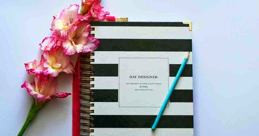 picture relating to Whitney English Planner titled Working day Designer Planner Examine