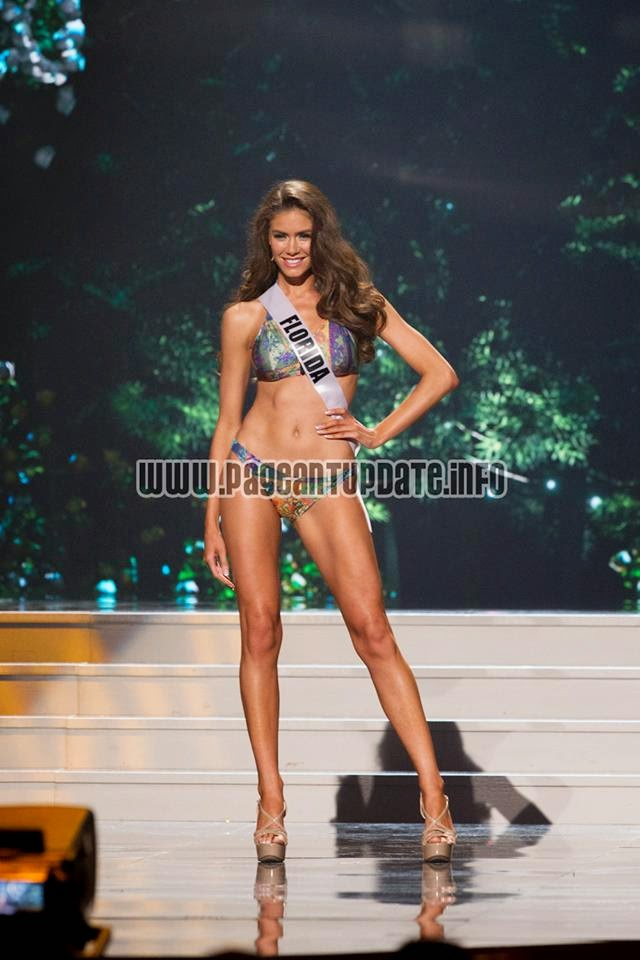Miss USA 2014 Preliminary Competition - Swimsuit Round Photos