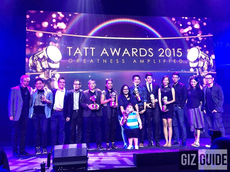 Tatt Awards 2015 Great 10 Revealed, Congratulations!