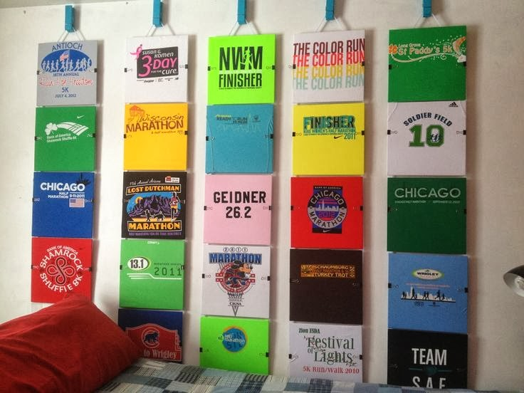 Mission I Mpossible What Do You Do With Old Race Shirts