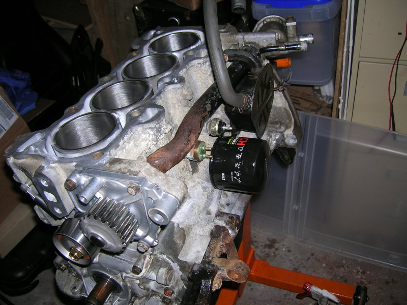 Flexhone Cylinderhone on Honda Civic Rebuilt Engines