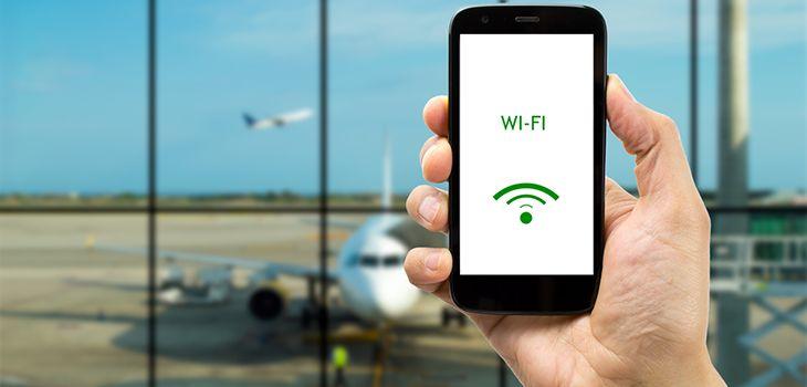 WiFi gratis di bandara