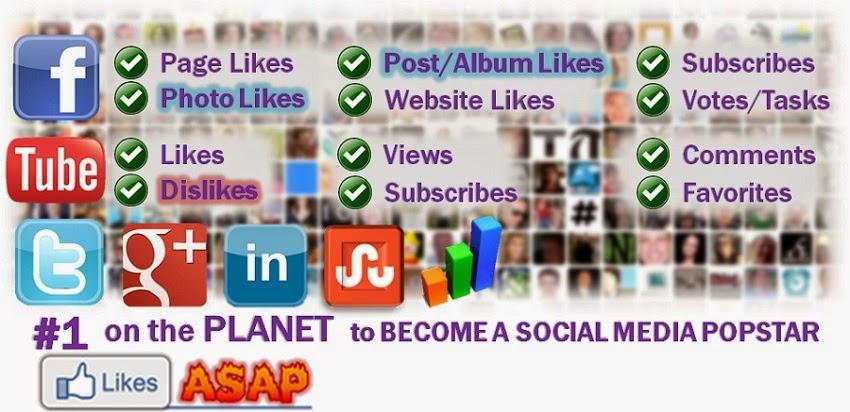 Social Media Get Followers Likes and Views