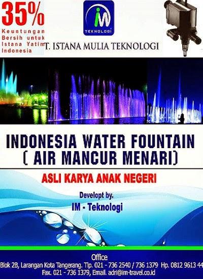 Pembuatan Air Mancur