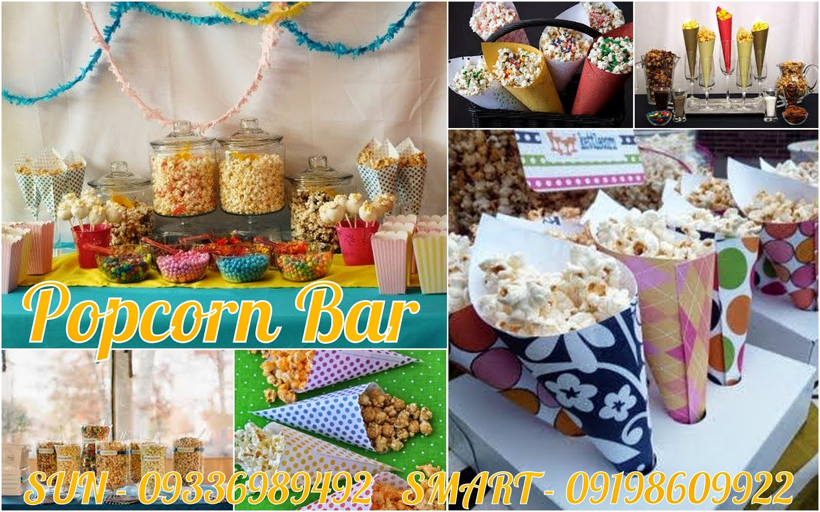 Consider A Popcorn Bar For Your Next Party Or Event And Personalize It With  Creative Mix Ins, Toppings And Flavors. This Would Be A Fun And Creative  Way To ...
