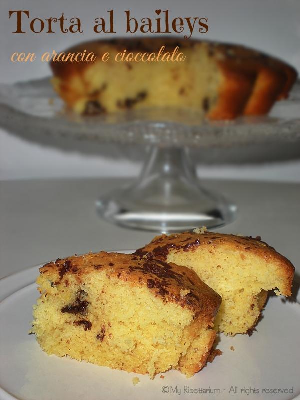Muffin al Baileys, arancia e cioccolato