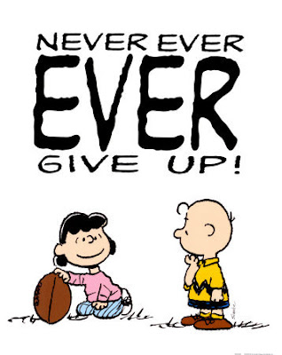 Peanuts - Never Give Up