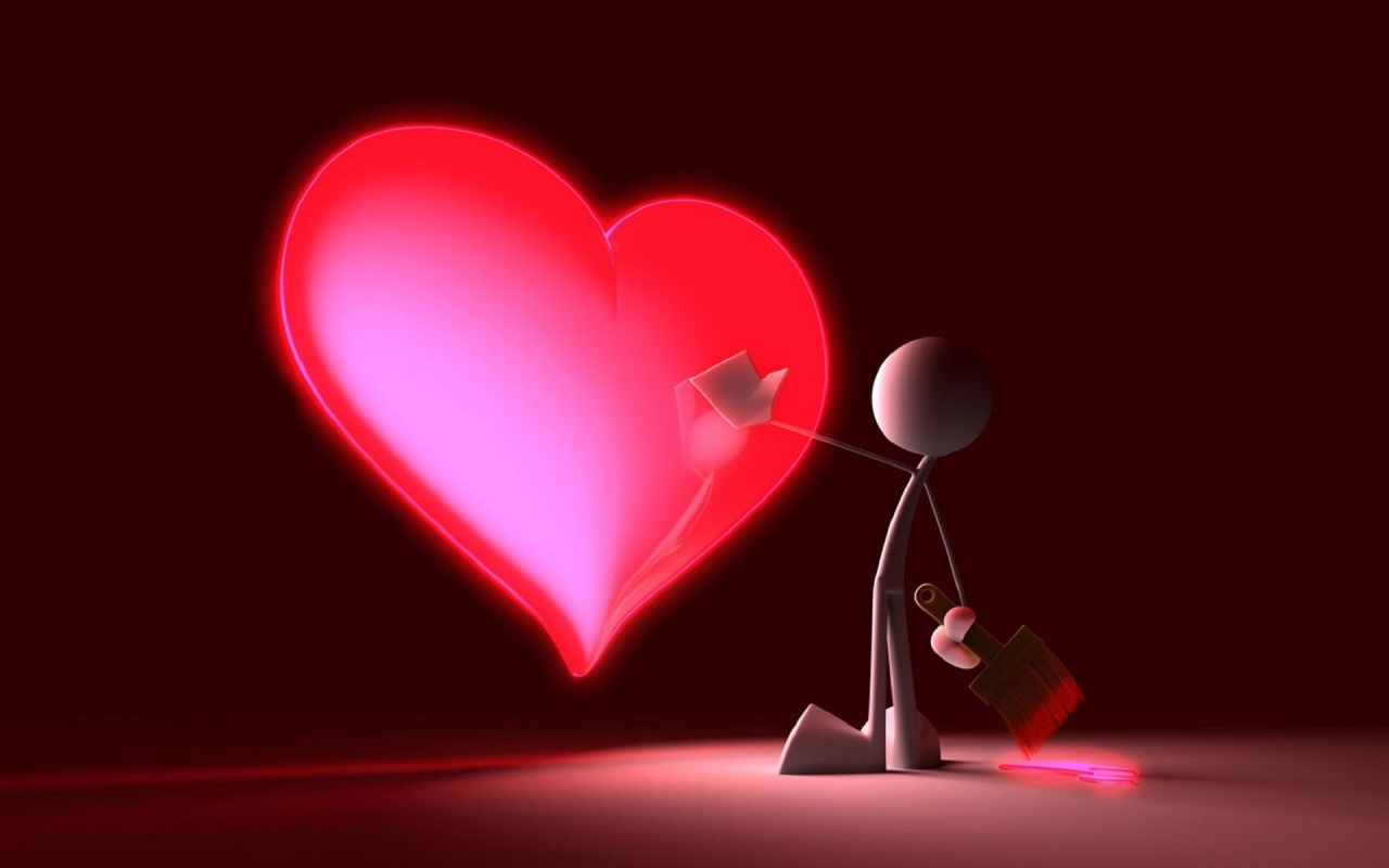 3d Love For Gifts Valentine S Day 2013 Free Download Hq Wallpapers