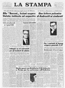 LA STAMPA 7 FEBBRAIO 1973