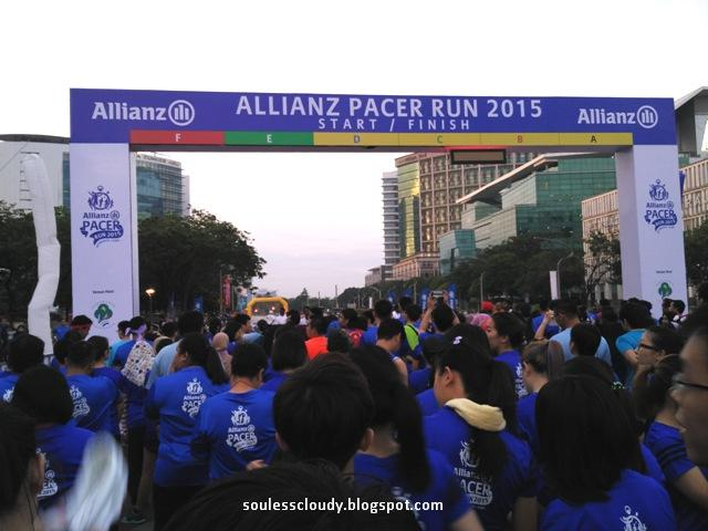 Allianz Pacer Run