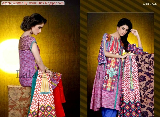 Mashaal Embroidered Shawl Winter 2014