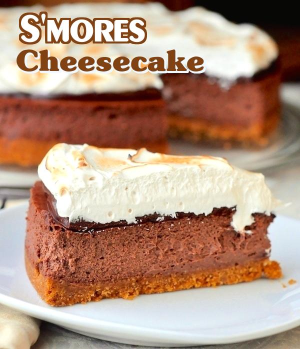 mores Cheesecake