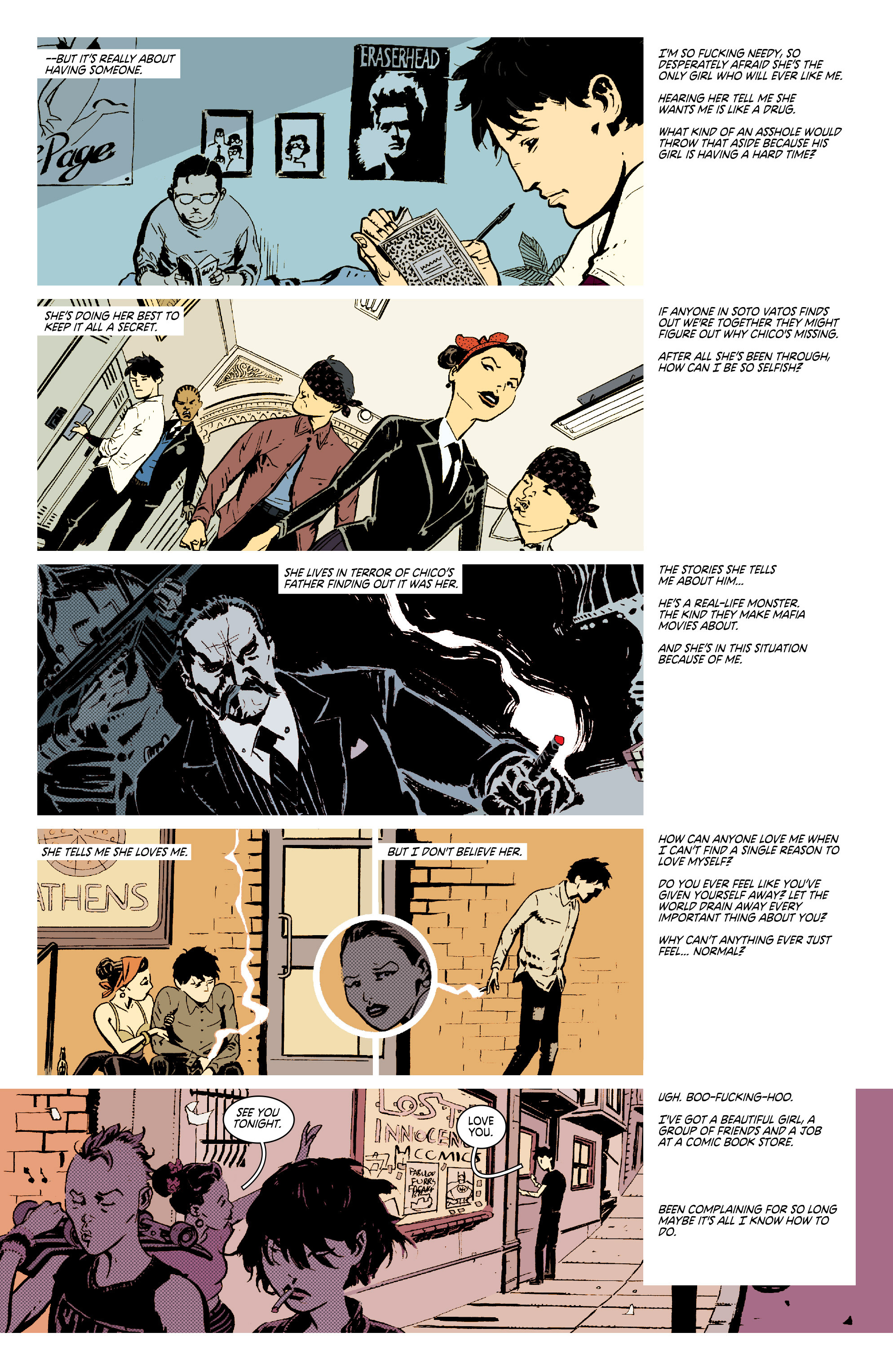 Read online Deadly Class comic -  Issue #7 - 8