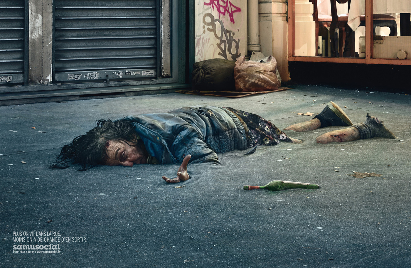 Homeless Become Part of the Fabric of Society