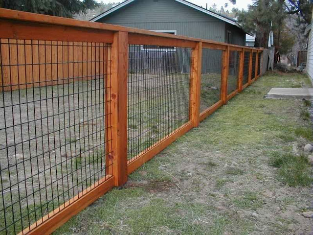 Fence designs wood and wire ayanahouse