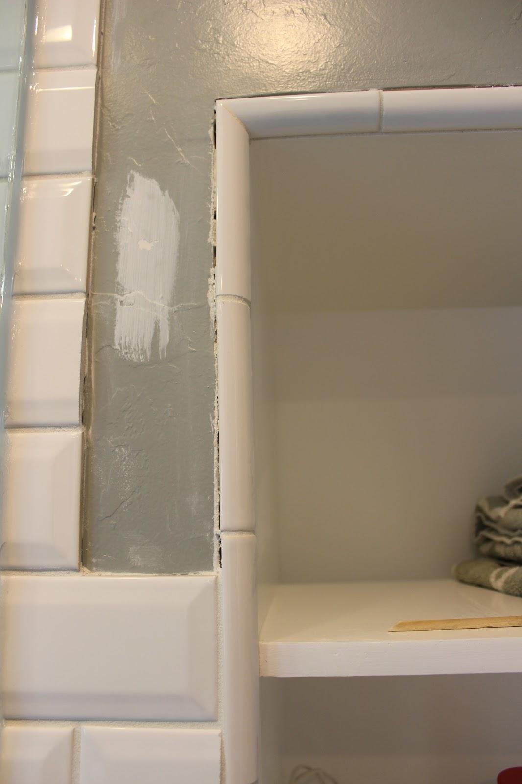 Bathroom Tile Quarter Round those last bathroom to do list items