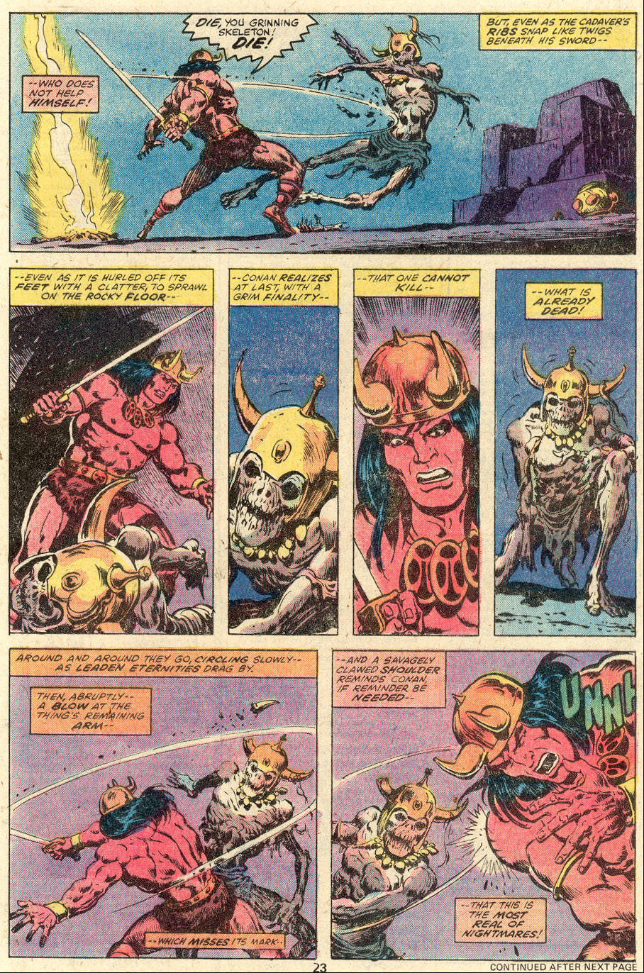 Conan the Barbarian (1970) Issue #92 #104 - English 14