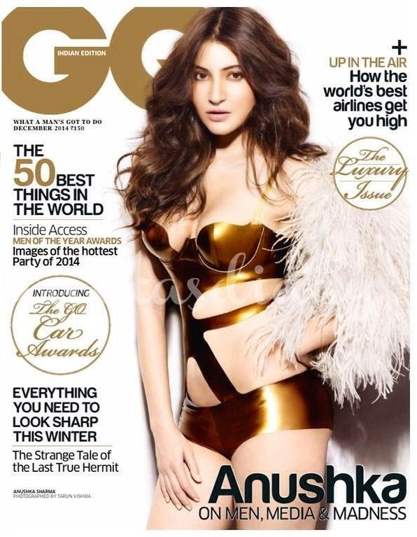 Anushka Sharma Looking Hot on the Cover of GQ Magazine