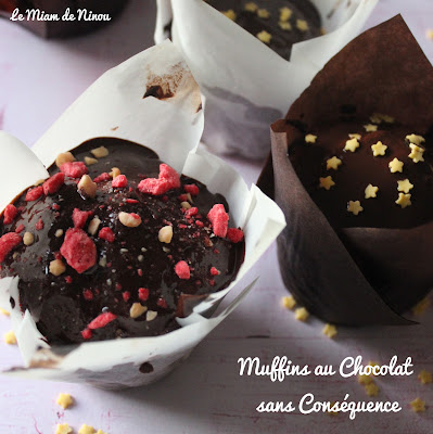 Illustration Muffins au Chocolat sans Conséquence