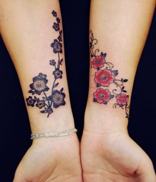 Tatuagens femininas delicadas - Pulso