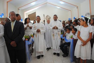 Actividades Parroquia San Antonio de Padua Municipio Bohechío, San Juan.