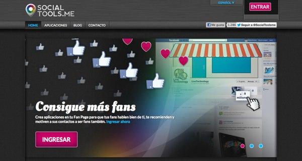 SocialTools una aplicacion para crear concursos en Facebook